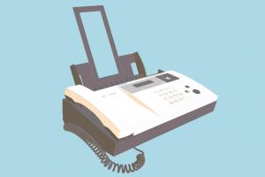 Fax Machine Fax, office, electronic, machine, objects, communication, telephone, phone