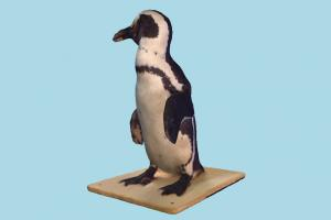 Penguin penguin, scanned, sculpture, polar-animal, polar, animal, animals