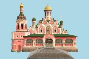 Church church, castle, palace, mansion, fantasy, building, moscow, structure