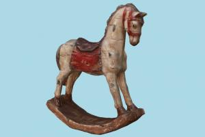 Decorative Horse decorative, horse, furniture, pony, stallion, toy, fun, play, baby, object, chair, seat
