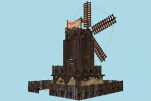 Old Windmill House