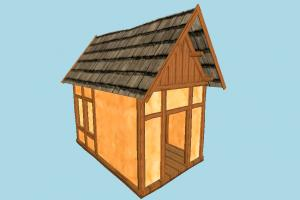 Small House house, home, building, hut, cottage, build, apartment, flat, residence, domicile, structure