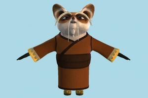 Shifu fox, animal-character, cat, character, animal, animals, cartoon