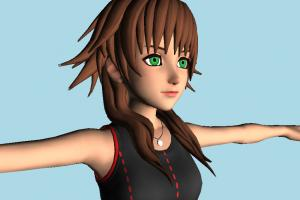 Kingdom Hearts 3 - KH3 Olette Girl