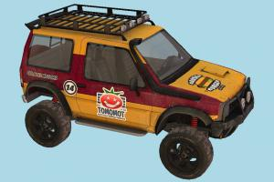 Offroad Car offroad, hummer, car, truck, vehicle, carriage, transport