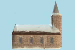 Church church, castle, tower, house, snow, building, structure, residence, domicile