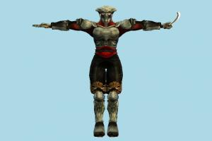 Tekken Yoshimitsu tekken, character, robot, fighter, human, people, metal