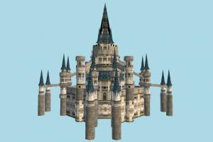 Hyrule Castle castle, palace, mansion, church, fantasy, tower, house, building, build, domicile, structure