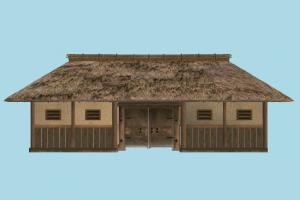 House barn, farm, house, town, country, home, building, build, residence, domicile, structure