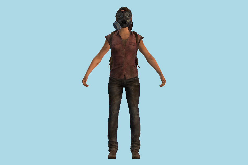 The Last Of Us - TLOU Tess 3d model