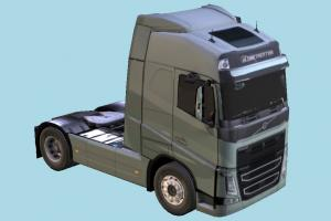 Volvo Truck truck, heavy, semi, renault, t-series, industrial, vehicle, carriage, transport, volvo, tractor