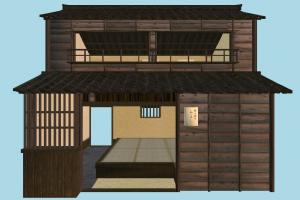 Japanese House japanese, house, chinese, home, building, build, residence, domicile, structure