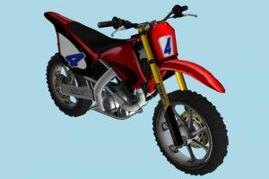 Suzumu Bike motorbike, bike, motorcycle, motorcross, motor, cycle, red
