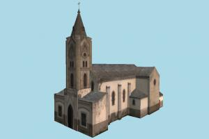 Church church, castle, build, tower, house, building, structure, residence, domicile
