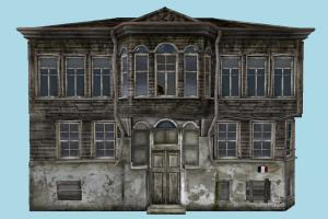 Old Building house, home, building, old, wooden, build, apartment, flat, residence, domicile, structure