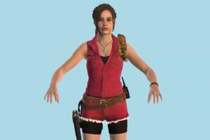 Claire Girl Resident Evil Remake Claire-2