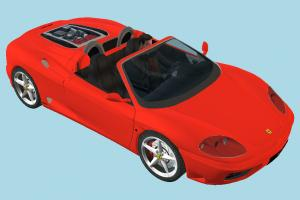 Ferrari Car ferrari, car, vehicle, transport, carriage, driver, red