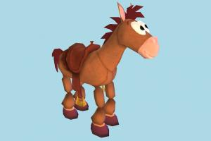 Bullseye Horse Toy-Story, Bullseye, horse, animal, toy, cartoon, toon