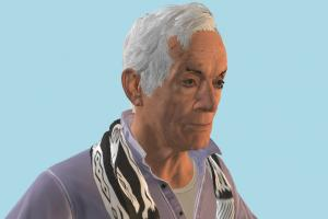 Detroit Become Human Carl Manfred Crippled Old Man