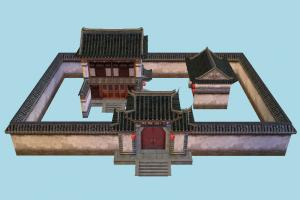 Japanese Castle castle, japanese, house, chinese, home, building, build, residence, domicile, structure