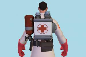 Team Fortress 2 Medic Student