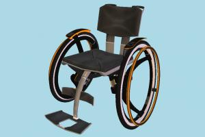 Crippled Chair Detroit, Become-Human, crippled, chair, wheel
