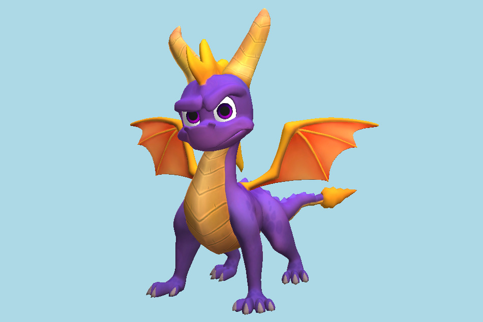 Spyro the Dragon Reignited Trilogy 3d model