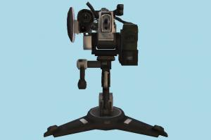 Camera camera, stool, stand, security, monitor, watching, digital, filming, objects