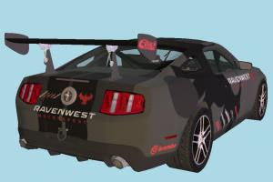 Ford Car Mustang BOSS 302 Modified 2013