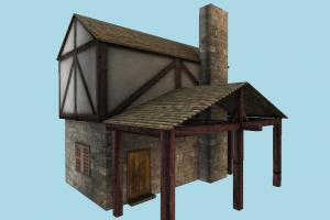 House house, farm, barn, town, country, home, building, build, apartment, flat, residence, domicile, structure