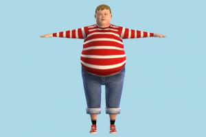Augustus Gloop fat, boy, kid, child, children, teenager, male, man, people, human, character, cartoon