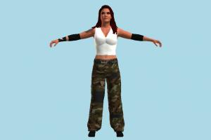 Lita WWE wwe, wwf, wcw, wrestler, lady, female, woman, people, human, character
