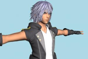 Kingdom Hearts 3 - KH3 Riku Boy
