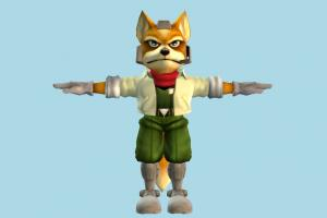 Fit Fox fox, animal-character, character, cartoon