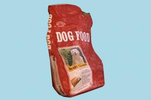 Dog Food dog-food, bag, food, foods, dog, lowpoly