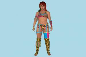 Asuka WWE wwe, wwf, wcw, wrestler, girl, female, woman, lady, bikini, people, human, character
