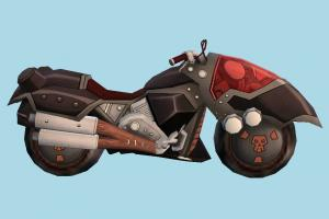 Digimon Behemoth Motorcycle digimon, Digimon-Masters-Beelzemon, motorbike, bike, motorcycle, motor, cycle, sport, sportive, speed, fast, racing, race, cartoon