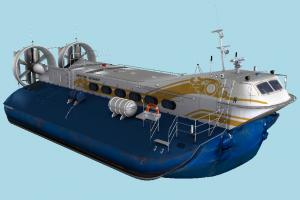 Hovercraft hovercraft, hover, vessel, watercraft, ship, boat, maritime, mercedes, amphibian, amphibious, volga, hivus, vehicle