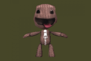 Sackboy teddy, character, toy, LBP, swoop
