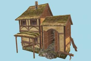 Old House barn, farm, house, town, country, workshop, home, building, build, residence, domicile, structure