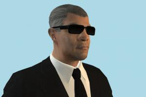 Secret Service Agent Business Man