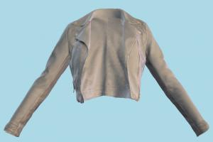 Jacket jacket, clothes, clothing, wears, outerwear, coat, leather, grey, fashion, top, apparel