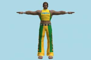Tekken Eddy Gordo Tekken, man, male, people, human, character