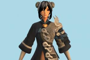 Jin Girl Blade n Soul Outfit