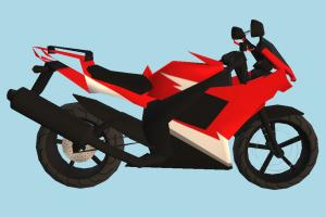 Yamaha Motorbike yamaha, motorbike, bike, motorcycle, motor, cycle, sport, sportive, speed, fast, racing, race, low-poly