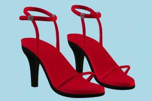 Red Sandal sandal, slipper, footwear, boots, shoes, wear, fashion