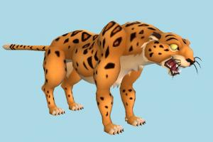 Sabor tiger, animal, animals, tarzan, cartoon, toony
