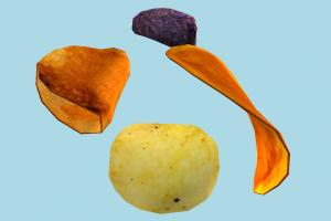 Potato Chips chips, potato, food
