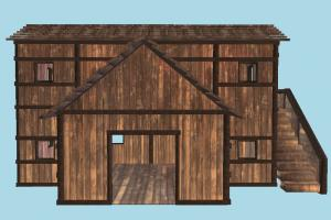 Wooden House house, home, building, build, apartment, flat, residence, domicile, structure