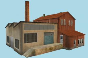 Factory Building factory, workshop, work, house, home, building, build, residence, domicile, structure